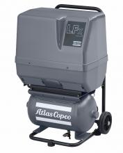 Поршневой компрессор Atlas Copco LFx 1,0 1PH на тележке с ресивером