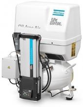 Поршневой компрессор Atlas Copco LFx 1,0 D 1PH на ресивере(24 л) с осушителем SDN