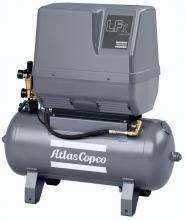 Поршневой компрессор Atlas Copco LFx 0,7 1PH на ресивере(90 л)